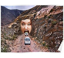 (✿◠‿◠) FACE IN MOUNTAIN OPEN MOUTH DRIVE THROUGH (✿◠‿◠) Poster