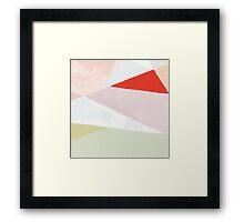 Hot Red Sun Framed Print