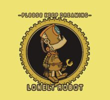 Lonely Robot: Tinkering Thinker by David-Chan