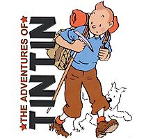 tintin adventures Photographic Print
