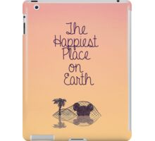 Happiest Place on Earth iPad Case/Skin