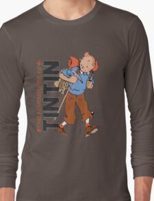 tintin adventures Long Sleeve T-Shirt