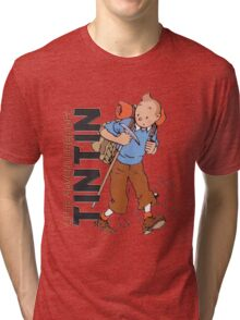tintin adventures Tri-blend T-Shirt