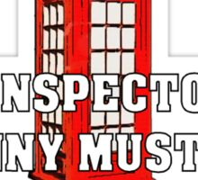 The Anti-Inspector Sticker