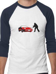 This Is What Happens, Larry (Alternate Version) Men's Baseball ¾ T-Shirt