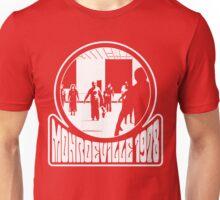 Monroeville, 1978 (White Print) Unisex T-Shirt