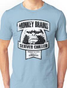 Monkey Brains (B&W Print) Unisex T-Shirt