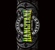Rangitane Lifer moko Green chrome by Revolution Aotearoa