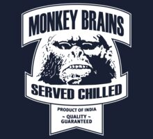 Monkey Brains (White Print) T-Shirt