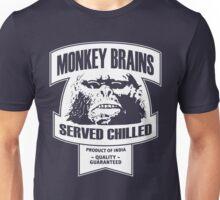 Monkey Brains (White Print) Unisex T-Shirt