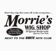 Morrie's Wig Shop (Black Print) by GritFX