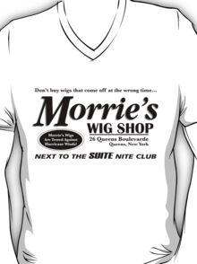 Morrie's Wig Shop (Black Print) T-Shirt
