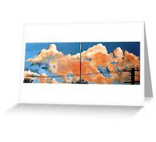 Bayside Clouds Greeting Card