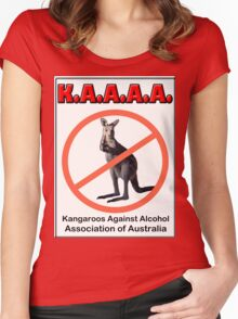 THE K.A.A.A.A. Women's Fitted Scoop T-Shirt