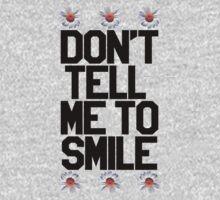 Don't Tell Me To Smile - Black Kids Tee