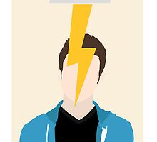 Carson Phillips - Struck By Lightning Poster by mondter
