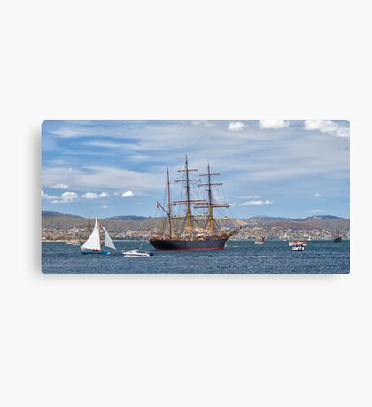 James Craig, Hobart, Tasmania #2 Canvas Print