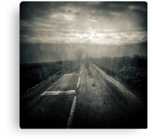The Chauvry road Canvas Print