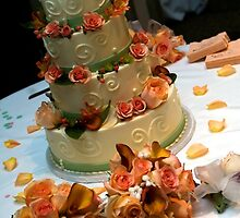 Cake and Bouquets by psctran