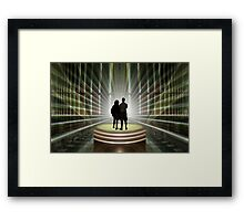 Finally, some light at the end of the tunnel! Framed Print