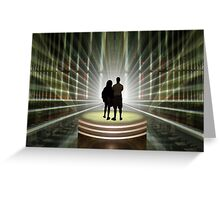 Finally, some light at the end of the tunnel! Greeting Card