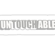 Untouchable Sticker