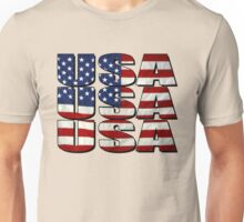USA USA USA 4th July Unisex T-Shirt