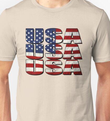 USA USA USA 4th July Unisex T-Shirt