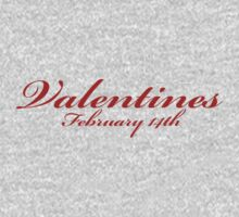 Valentines 14th February Kids Clothes
