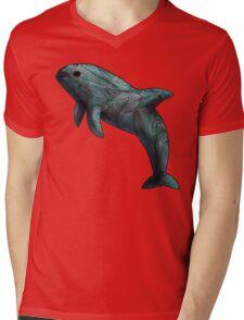 Vaquita Mens V-Neck T-Shirt