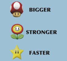 Bigger, Faster, Stronger  -Nintendo by bradsipek