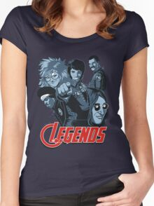 THE LEGENDS Women's Fitted Scoop T-Shirt