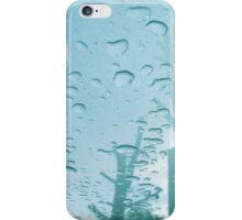 City After Rain (blue) iPhone Case/Skin