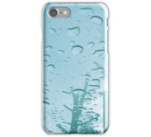 City After Rain (blue) iPhone Case/Skin
