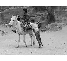 Petra Playtime  Photographic Print