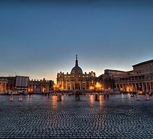 St Peter's Square, Vatican City by expo15
