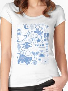 Collecting the Stars Women's Fitted Scoop T-Shirt