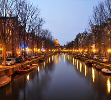 Amsterdam Canal by expo15