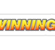 Winning! Sticker