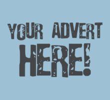 Your Advert Here Kids Tee