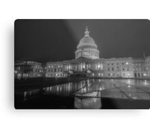washington dc capitol building Metal Print