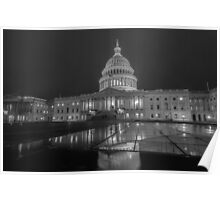 washington dc capitol building Poster