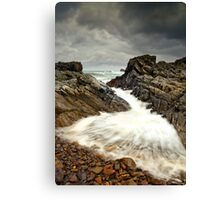 Incoming Wave Canvas Print