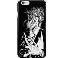 The Joker Face at Batman Dark Knight iPhone Case/Skin