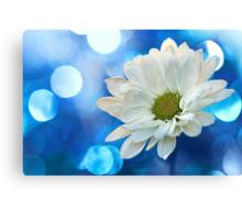 Celebrating Blue & White Canvas Print