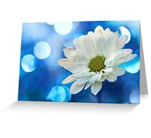Celebrating Blue & White Greeting Card