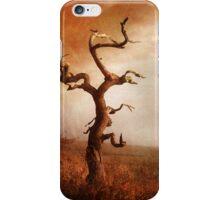 Textured Tree in Gateshead iPhone Case/Skin