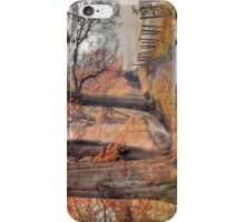 Ousbrough Woods(Textured) iPhone Case/Skin