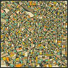 MILAN MAP by JazzberryBlue