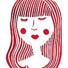 Girl in red by jadelaura